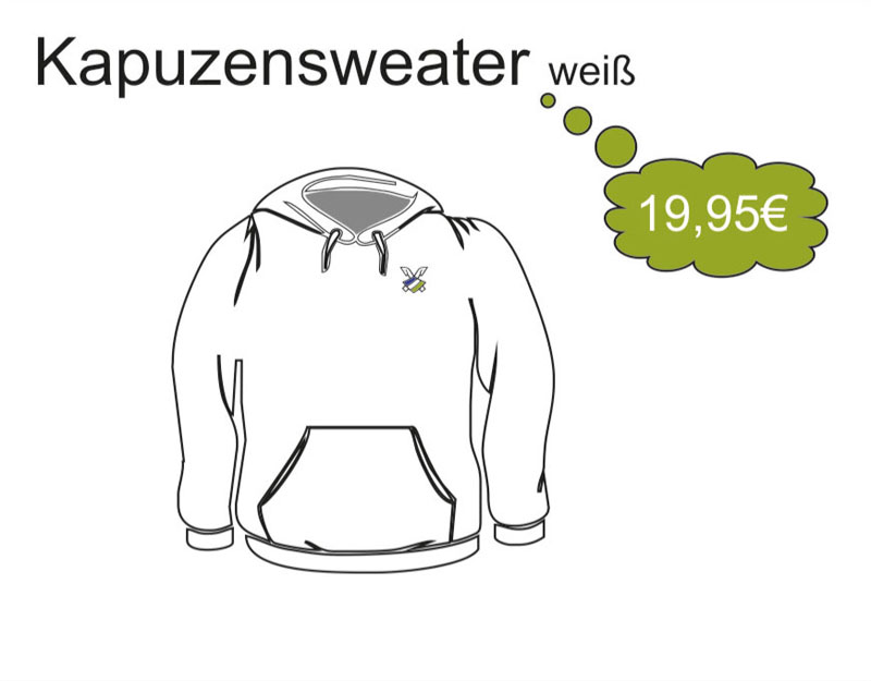 Kapuzensweatshirt mit Döhren Logo