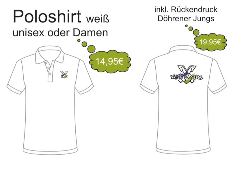 Poloshirt mit Döhren Logo