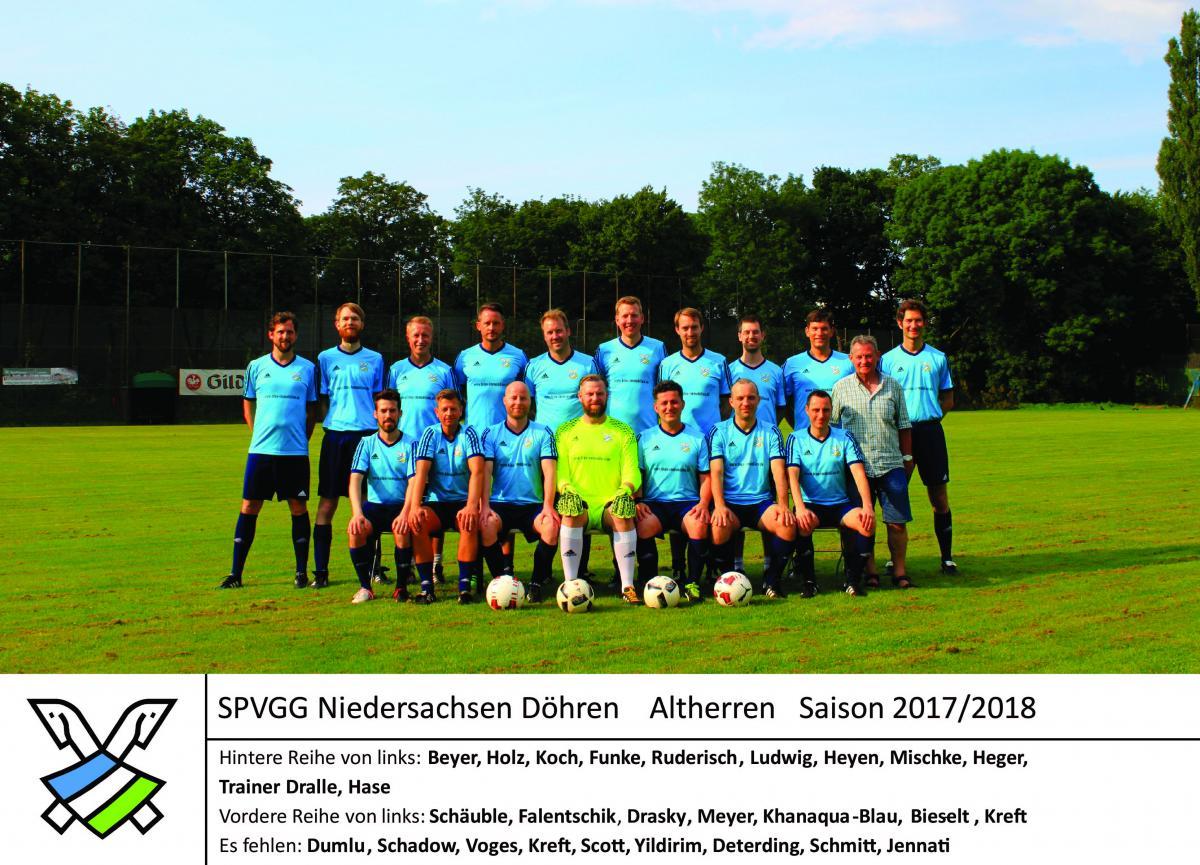 Das Team für die Saison 2017/18