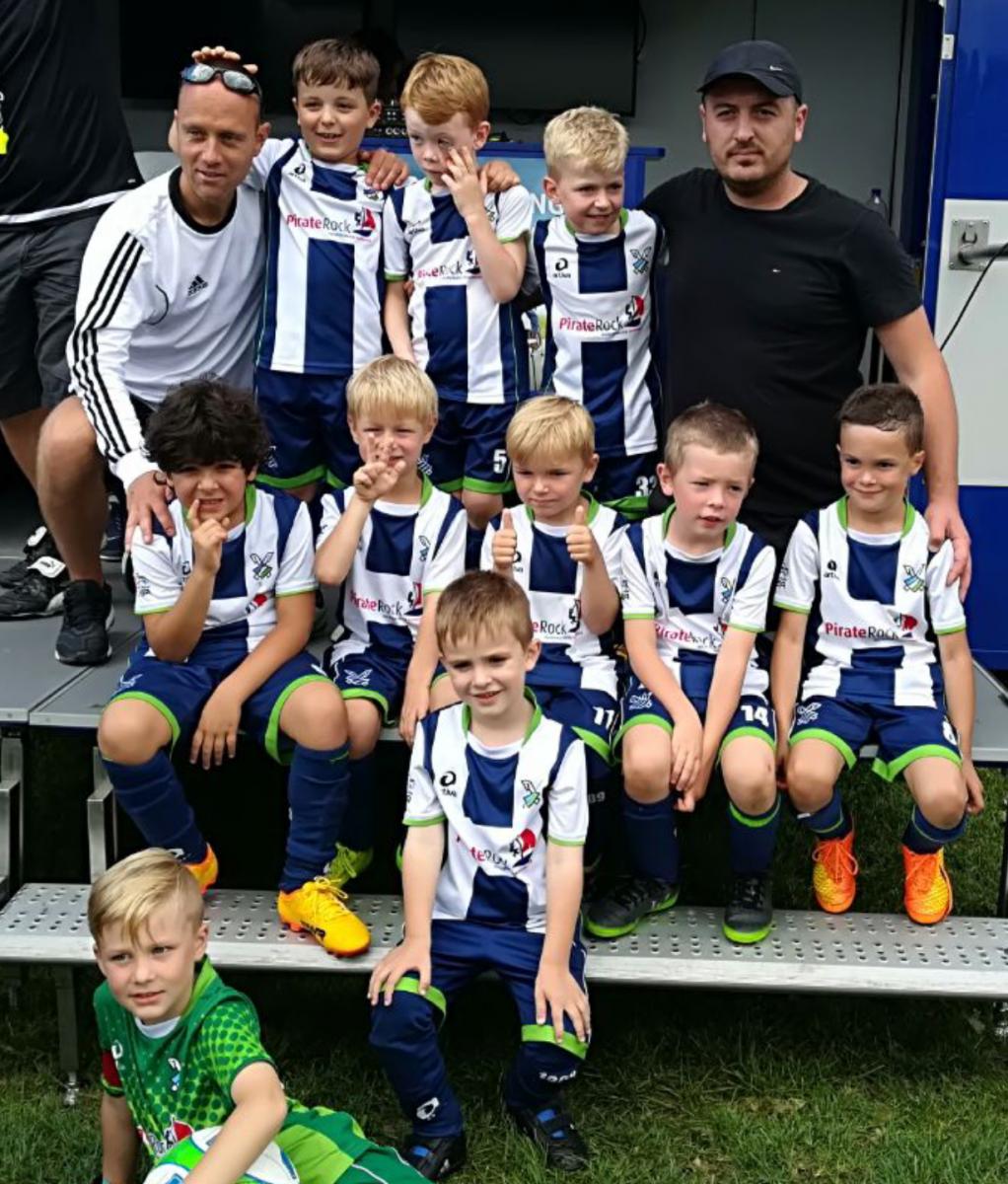 Unser 1. Team der G-Junioren für die Saison 2017/18